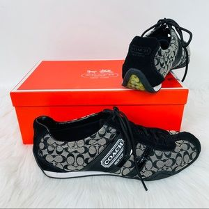 Coach Remmona Shoes Black Worn Once sz 7 Box